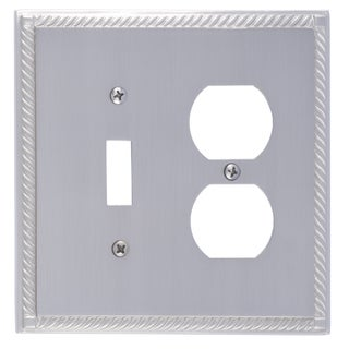 Georgian Double 1-Switch/ 1-Outlet