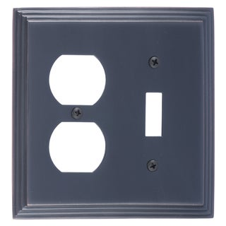 Classic Steps Double 1-Switch/ 1-Outlet