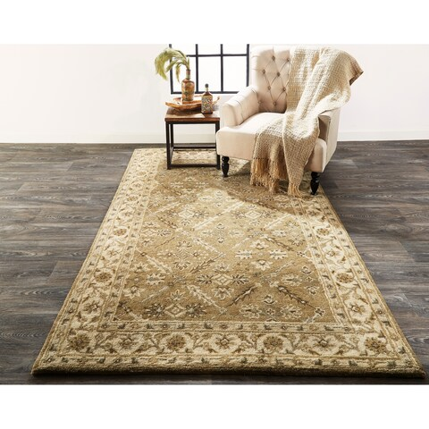 Grand Bazaar Botticino Sage Area Rug - 8' x 11'