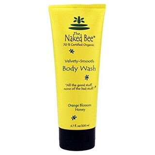 The Naked Bee 6.7-ounce Velvety-Smooth Orange Blossom Honey Body Wash