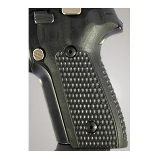Hogue Sig P228/P229 Grips Pirahna G-10 Solid Black