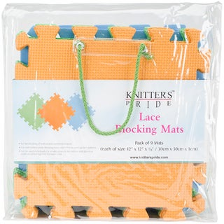 Lace Blocking Mats 9/Pkg-