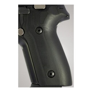 Hogue Sig P228/P229 Grips G-10 Solid Black
