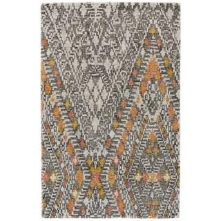 Grand Bazaar Dimat Tangerine Hand-Tufted Rug (8' x 11')