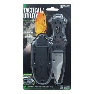 """McNett Tactical Samish Stiletto Knife 3"""" Black"""