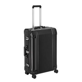 Zero Halliburton Geo Aluminum 2.0 26-inch Black 4-Wheel Spinner Suitcase