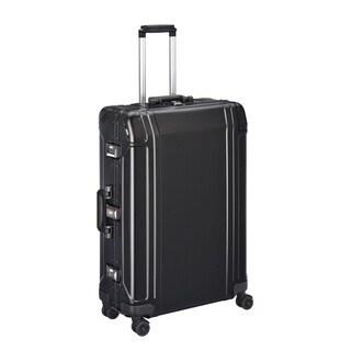 Zero Halliburton Geo Aluminum 2.0 28-inch Black 4-Wheel Spinner Suitcase