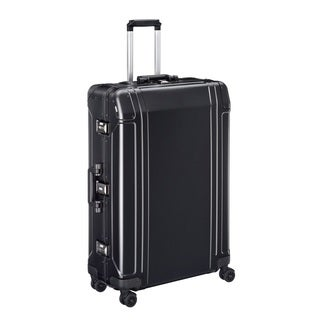 Zero Halliburton Geo Aluminum 2.0 30-inch Black 4-Wheel Spinner Suitcase