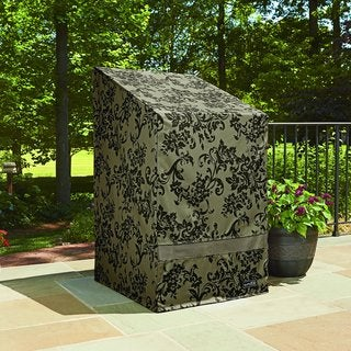 Patio Armor Stack of Chairs Cover with PU Coating