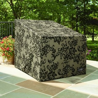 Patio Armor Highback Patio Chair Cover with PU Coating
