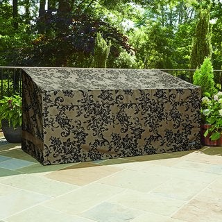 Patio Armor Loveseat/Bench Cover With PU Coating