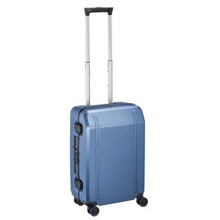Zero Halliburton Travellers 19-inch Blue Hardside Carry-On Spinner Suitcase