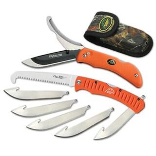 Outdoor Edge Cutlery Corp Razor-Pro/Saw Combo (Orange) Box