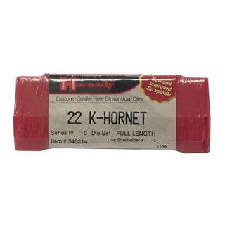 Hornady Series IV Specialty Die Set 22 K-HORNET (.224)