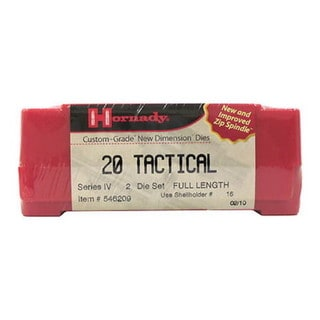 Hornady Series IV Specialty Die Set 20 Tactical
