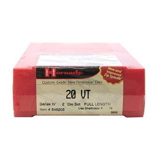 Hornady Series IV Specialty Die Set 20 VT (.204)