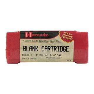 Hornady Series IV Specialty Die Set Blank Cartridge, 22-45 Caliber