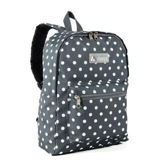 Everest Grey/White Polka Dot 15-inches Backpack