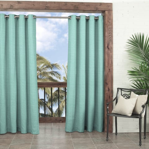 Parasol Key Largo Solid Indoor/Outdoor Curtain Panel