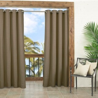 Parasol Key Largo Solid Indoor/Outdoor Curtain Panel