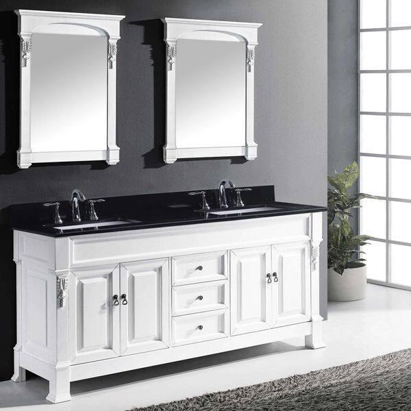 Bathroom Vanity Set Black Granite