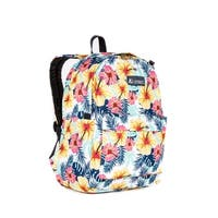 Everest 16.5-inch Tropical Pattern Backpack