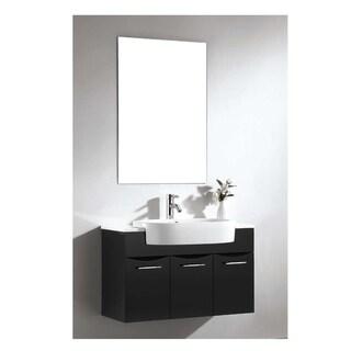 Dawn® Vanity Set: Sink Top (RET251405-06), Cabinet (REC331521-06) & Mirror (REM230135)