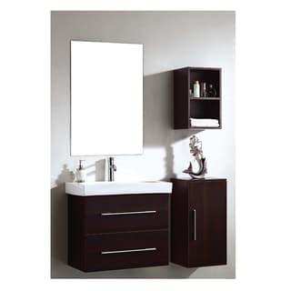 Dawn Vanity Set: Sink Top, Cabinet, Side Cabinet, Side Cabinet U0026 Mirror