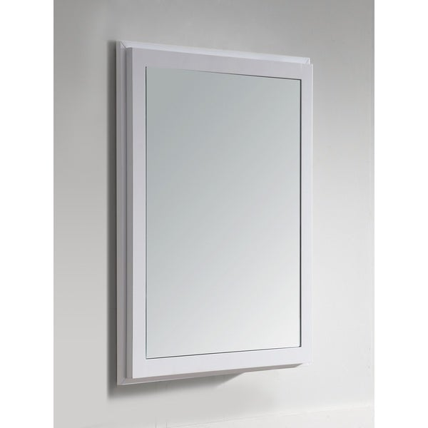 Dawn® Solidwood and Plywood Medicine Mirror Cabinet with Glass Shelf