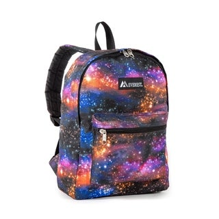 Everest 15-inch Galaxy Pattern Padded Shoulder Straps Backpack