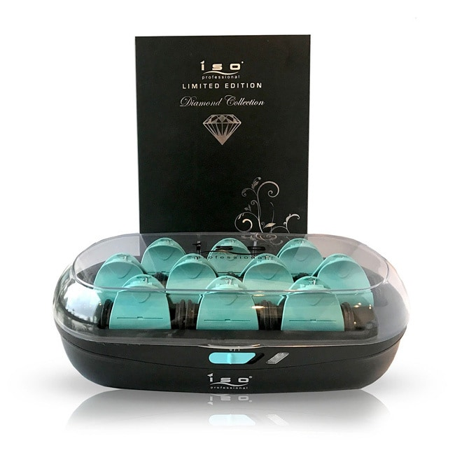 ISO Diamond Collection Hair Setters (Black), Multi-Color