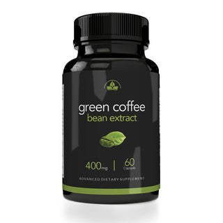 Totally Products Maximum Strength Green Coffee Bean Extract 400mg (60 Capsules) (3 options available)