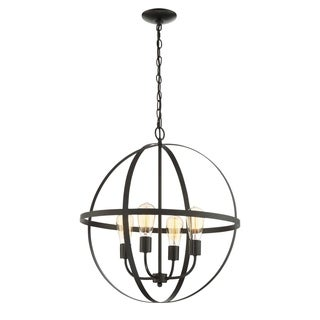 Lite Source 4-Light Manton Chandelier