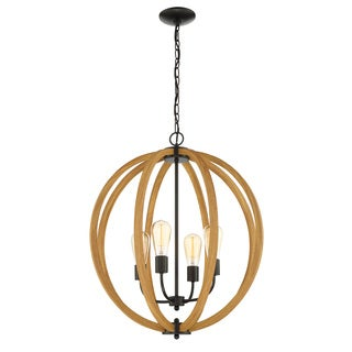 Lite Source 4-Light Matheus Chandelier