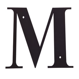 Black Letter 'M'