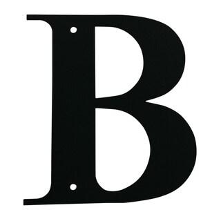 Black Letter B Monogram Sign
