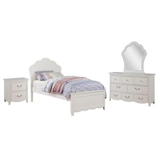 Acme Furniture Cecilie Bedroom Set in White