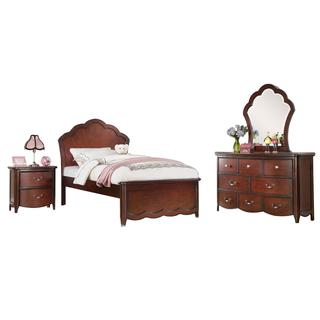 Acme Furniture Cecilie Bedroom Set in Cherry