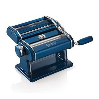 Atlas 150 Blue Stainless Steel Pasta Machine