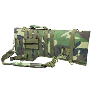 NcStar Tactical Rifle Scabbard Woodland Camo