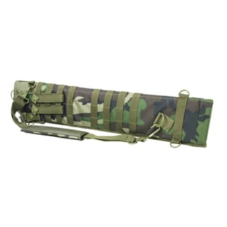 NcStar Tactical Shotgun Scabbard Woodland Camo