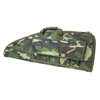 "NcStar 2907 Series Rifle Case 38"", Woodland Camo"