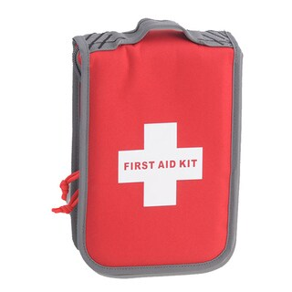 G Outdoors Medium First Aid Kit, Red