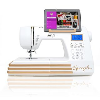 Spiegel 60609 Wi-Fi Enabled Stitch Cam 350 Stitch Computerized Sewing Machine