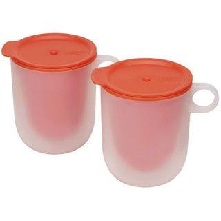 Joseph Joseph M-Cuisine Orange Cool Touch Microwave Mugs (Set of 2)