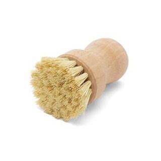 Fox Run Beechwood Handle 3-inch Natural Dish Brush