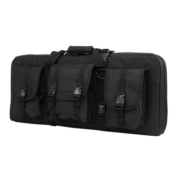 NcStar AR15 and AK Deluxe Carbine Pistol Case Black