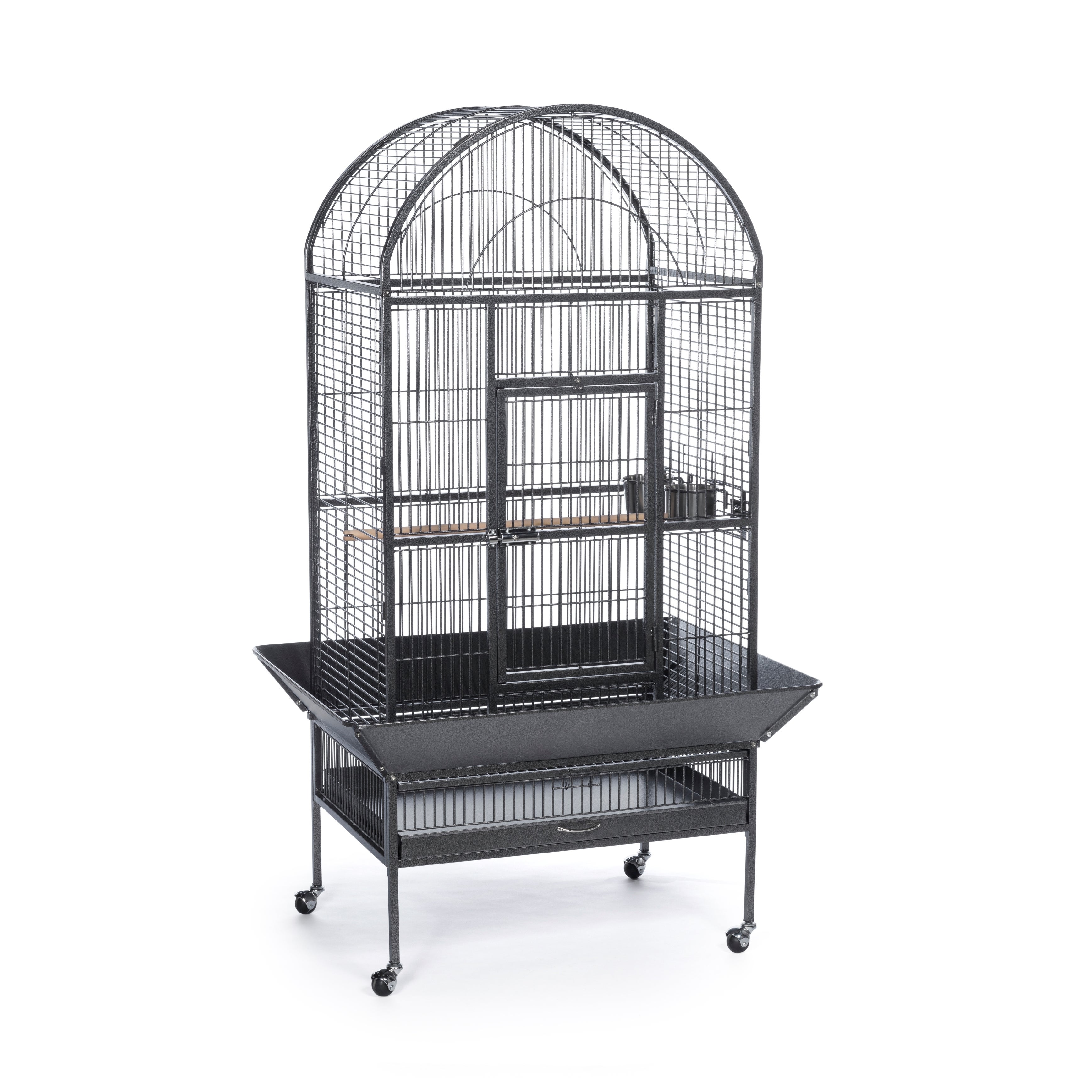 Prevue Pet Products Large Dome Top Bird Cage (Black Hamme...