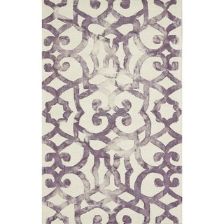 Grand Bazaar Violet Tufted Marengo Rug - 5' x 8'