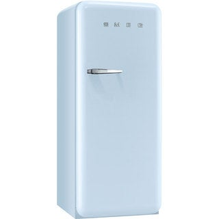 Smeg FAB28UPBR1 50s Style 9.2 Cubic Feet Pebble Blue Right-hand Refrigerator with Freezer Compartment